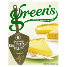 Green's Egg Custard Filling - 54g