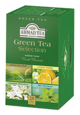 Ahmad Green Tea Selection - 20ct Bags - 3 In Stock