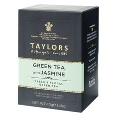 Taylors of Harrogate Green Tea with Jasmine - 20ct Bags - Sold Out