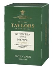 Taylors of Harrogate Green Tea with Jasmine - 50ct Bags - 2 In Stock
