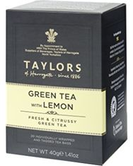 Taylors of Harrogate Green Tea with Lemon - 20ct Bags