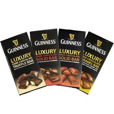 Guinness Luxury Chocolate Bars - 90g