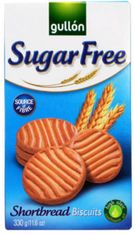 Gullon Sugar Free Shortbread Biscuits - 330g - 6 In Stock