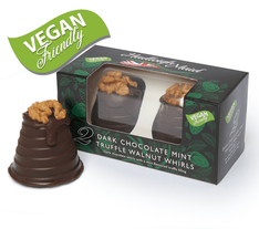 Hadleigh Maid Dark Chocolate Mint Truffle Walnut Whirls - 92g -Sold OUT