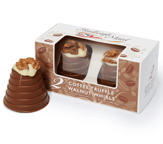 Hadleigh Maid Milk Chocolate Coffee Truffle Walnut Whirls - Sold Out