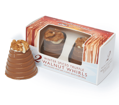 Hadleigh Maid Winter Spice Truffle Walnut Whirls - 92g - Sold Out