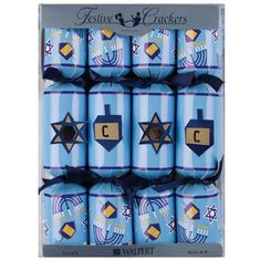 Hanukkah Crackers - 8 pack - Sold Out