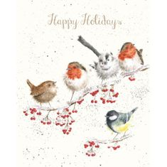 'Happy Holidays' Card - Sold Out