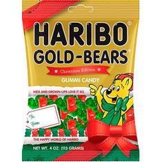 Haribo Christmas Edition Gold Bears - 113g - Sold Out