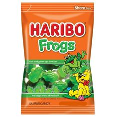 Haribo Frogs Treat Bag - 142g- Sold Out