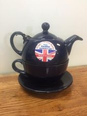 Brown Betty in Cobalt Blue  - Tea for One