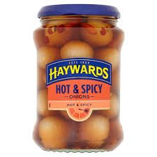 Haywards Hot & Spicy Onions Hot & Spicy - 400g - Sold Out