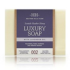 Heather Hills Farm Luxury Soap with Lavender Oil - 150g - Sold Out