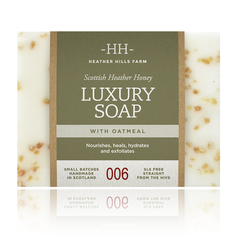 Heather Hills Farm Luxury Soap with Oatmeal - 150g - Sold Out