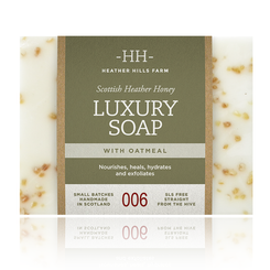 Heather Hills Farm Luxury Soap with Oatmeal - 150g - 1 In Stock