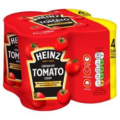 Heinz Cream of Tomato Soup - 4 pack - Sold Out