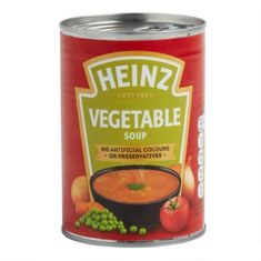 Heinz Vegetable Soup - 400g - BB June 2021