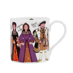 Henry VIII & his Wives Fine Bone China Mug - Sold Out
