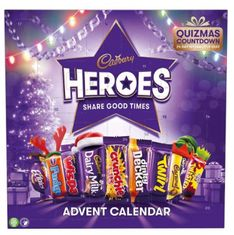 Heroes Advent Calendar - 230g - Sold Out 2020