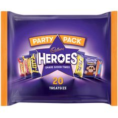 Heroes Party Pack - 20ct - Sold Out