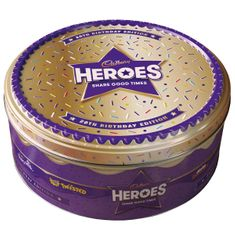 Heroes Birthday Edition Tin - 800g - Sold Out