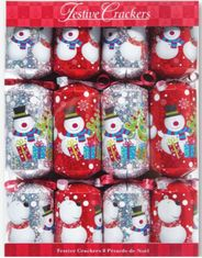 Holographic Snowmen Crackers - 8 pack - Not Available 2019