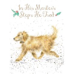 'In His Masters Steps He Trod' Card