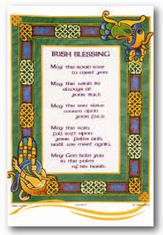 Irish Blessing Tea Towel - Sold Out