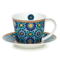 Dunoon Ishtar Cup and Saucer - Islay