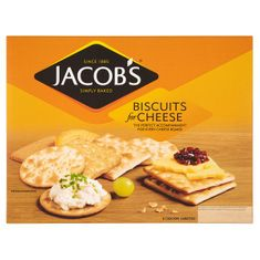 Jacob's Christmas Biscuits for Cheese - 450g  - Not Available 2019