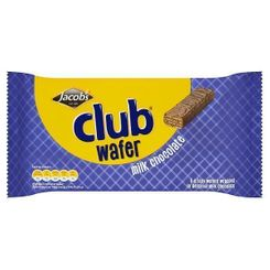 Jacob's Club Wafer - Milk Chocolate - 6pk