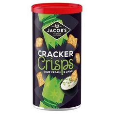 Jacob's Cracker Crisps Sour Cream & Chive Caddy - 230g - Sold out