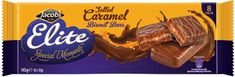 Jacob's Elite Salted Caramel Biscuits Bars - 145g- 3 in stock