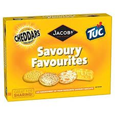Jacob's Savoury Favourites - 200g - Sold Out