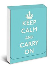 Keep Calm and Carry On Purse Notes - Sold Out