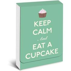 Keep Calm and Eat a Cupcake Purse Notes - Sold Out