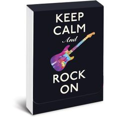 Keep Calm and Rock On Purse Notes - Sold Out
