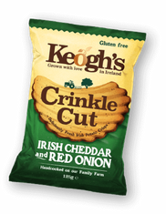 Keogh's Crinkle Cut Irish Cheddar & Red Onion - 50g - Sold Out