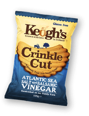 Keogh's Crinkle Cut Atlantic Sea Salt & Balsamic Vinegar  - 50g