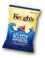 Keogh's Atlantic Sea Salt & Irish Cider Vinegar - 50g