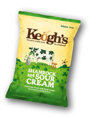 Keogh's Shamrock & Sour Cream - 50g - Sold Out
