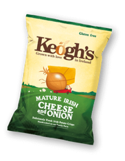 Keogh's Irish Cheese & Onion - 50g - Sold Out