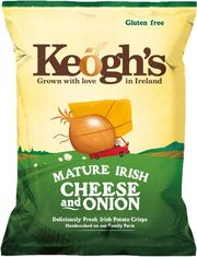 Keogh's Mature Irish Cheese & Onion - 125g