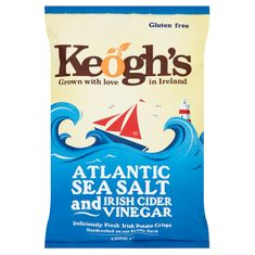Keogh's Atlantic Sea Salt & Cider Vinegar - 125g