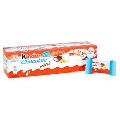 Kinder Chocolate Tube - 72g - Not Available 2019