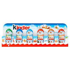 Kinder Mini Christmas Characters 6pk - 90g - Sold Out