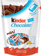 Kinder Chocolate Mini Pouch  - 108g  - Not Available 2019