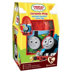 Kinnerton - Thomas & Friends Ceramic Mug & Egg - not available this year