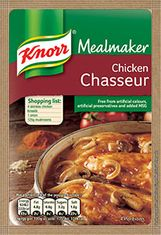 Knorr Chicken Chasseur - BB October 31