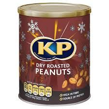 KP Dry Roasted Peanuts Caddy - 375g - Sold Out